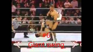 Top 15 moves of DJ Gabriel (ECW)