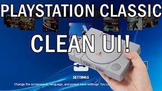 Playstation Classic | CLEAN UI! | lolhack exploit