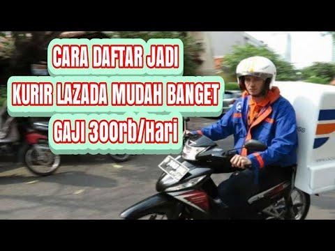 Daftar Driver Lazada Daftar Kurir Lazada Gaji 125 Ribu 300 Ribu Per Hari Youtube