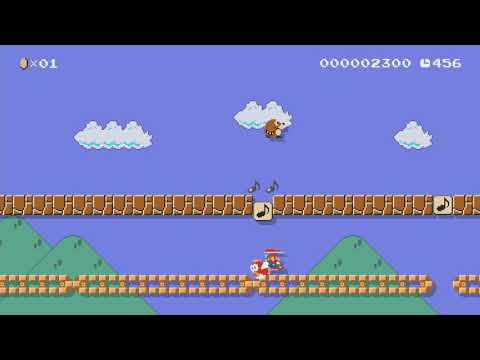 Mario Kart Racing Against Mole By Myra86 - Super Mario Maker - No Commentary
