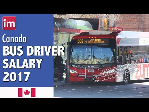 Bus Driver Salary in Canada | Jobs in Canada (2017)