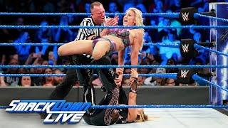 HINDI - Charlotte Flair vs. Natalya - Women's Title Match: SmackDown LIVE, 14 November, 2017