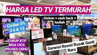 REVIEW HARGA LED TV TERMURAH, BANYAK PROMO, BANJIR HADIAH & LENGKAP HANYA DITOKO LOTTEMART