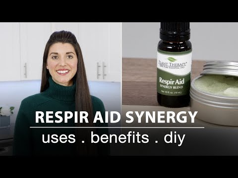 Respir Aid Synergy Essential Oil Blend: Best Uses + Quick How To