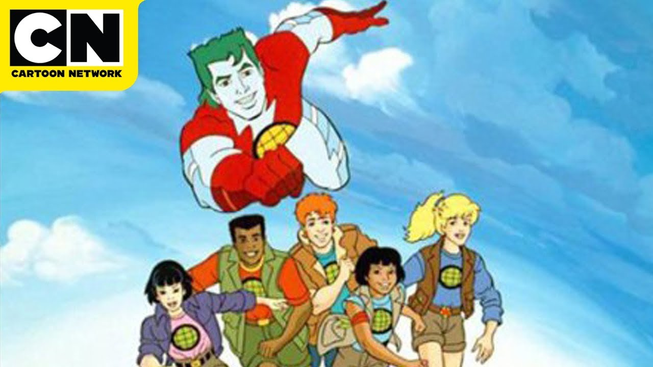 Captain Planet And The Planeteers Earth Day Crisis Cartoon