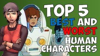 Top 5 Best/Worst Human Transformers Characters - Diamondbolt