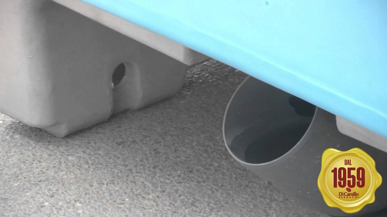 Cabina Bagno Chimico : Cabina bagno con turca idraulica bagno chimico delfino youtube