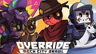 DELIRIOUS HAS JOINED THE BATTLE! | Override: Mech City Brawl (vs H2O Delirious & Rilla)