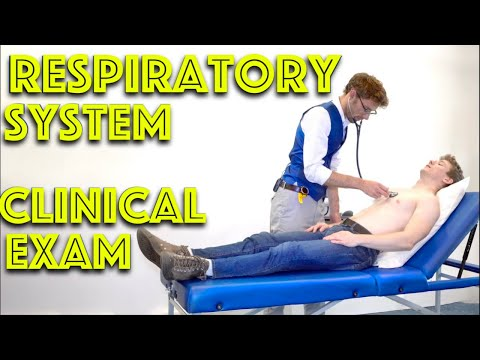 Respiratory Examination -  How to do a RESPIRATORY EXAM for your medical OSCE - 4K - Dr James Gill