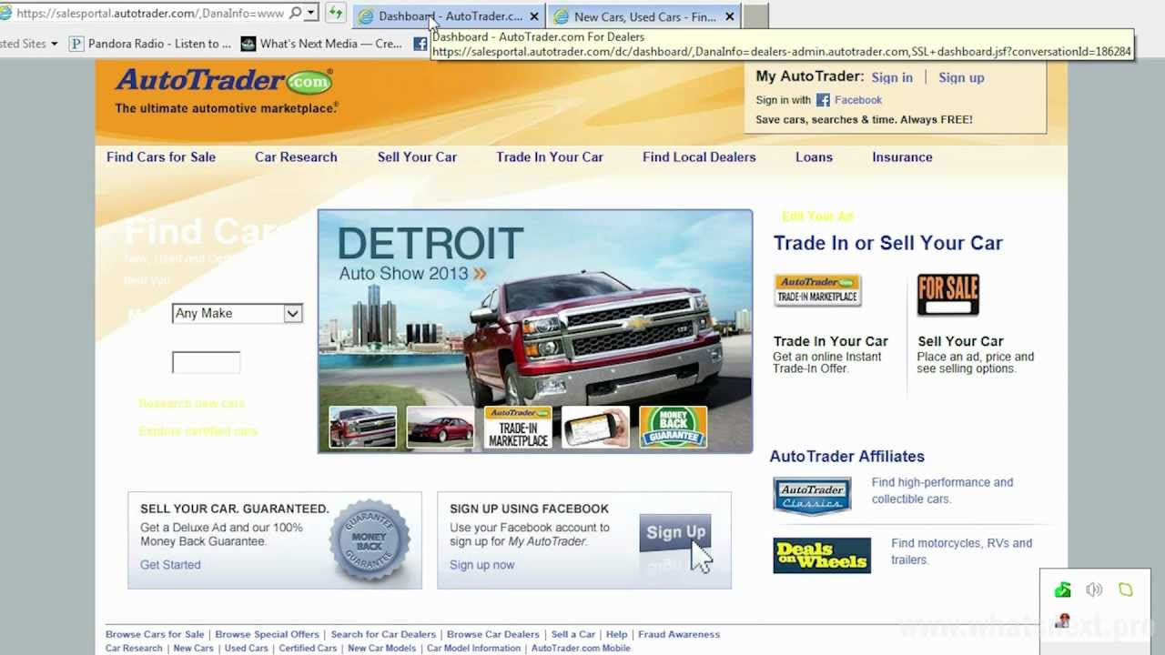 How to Upload Videos to AutoTrader + Run Special Promotions | What\'s ...