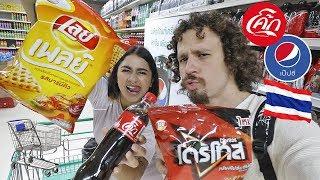 Visitando un supermercado en TAILANDIA 🇹🇭 No entendimos NADA!
