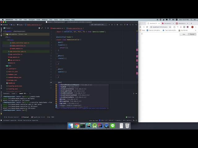 02 - Implement REST API ง่ายๆ ด้วย NestJS