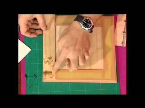 Enmarcar un lienzo bricocrack doovi - Como enmarcar un lienzo ...