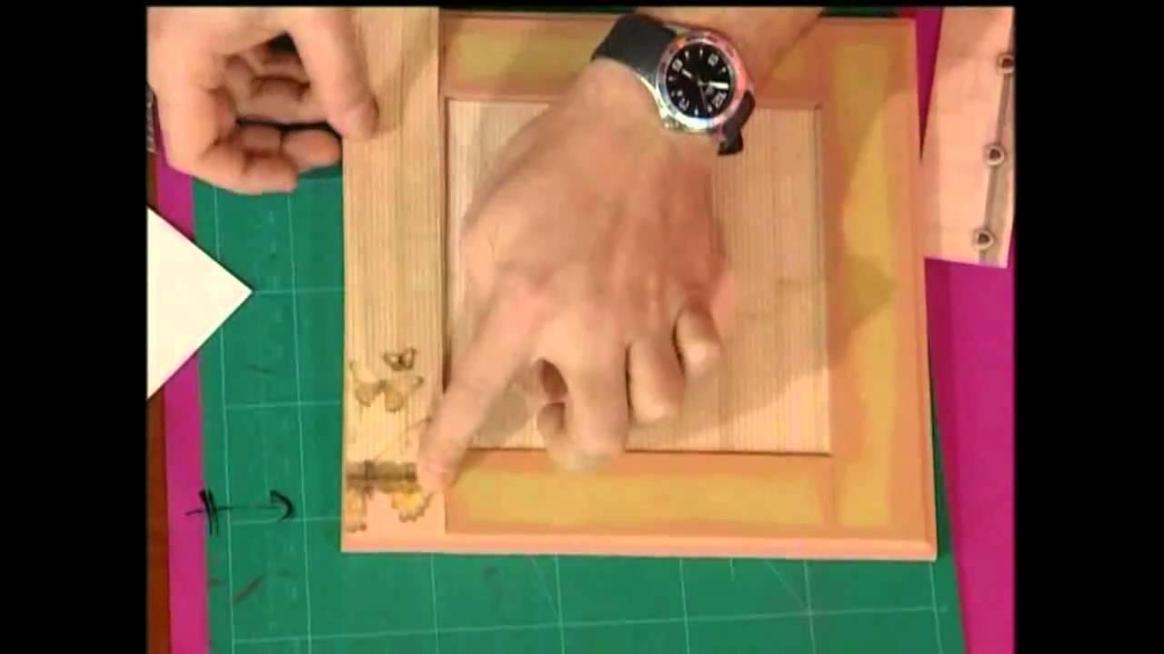 Como hacer un cuadro - YouTube