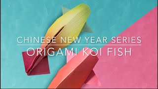 Origami Koi Fish (Level 2: Simple)