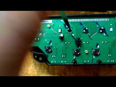 Подсветка ,меняем зеленую на белую( легко) Шевроле Лачетти Аля колхоз))Lighting, Change The Green To