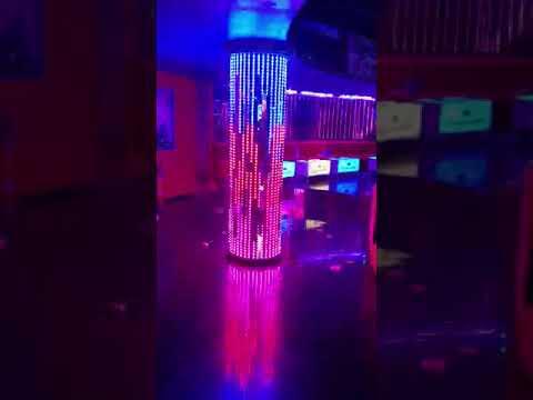 Pixel Led Imparator Night Club Kolon Aydinlatma .Uygulama Kibris Mehmet Teke