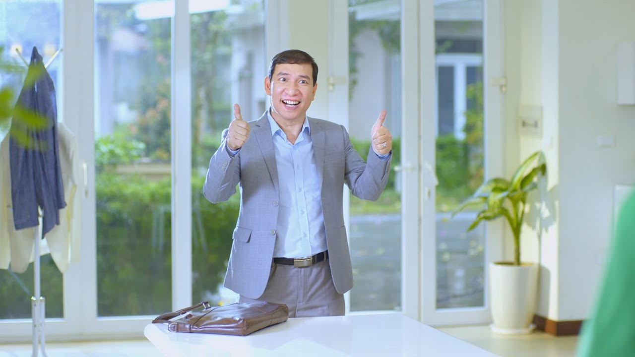 Diễn viên hài Quang Thắng – Thanh Hương làm TVC – Phim quảng cáo Gel Nano bạc Sao Thái Dương
