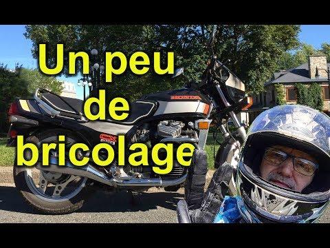 les clignotants de la moto