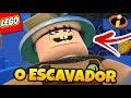 LEGO OS INCRIVEIS 2 (Parte 27) - FLECHA E VIOLETA CONTRA O ESCAVADOR