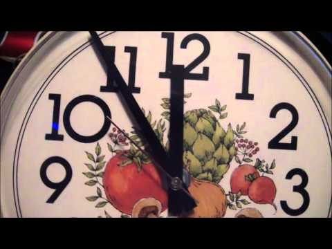 2 Westclox Electric Kitchen Wall Clocks. - YouTube