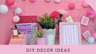 DIY Decor Ideas | Desk Decor ideas | Room Decor Project for Desk | Vinni's Craft Ideas