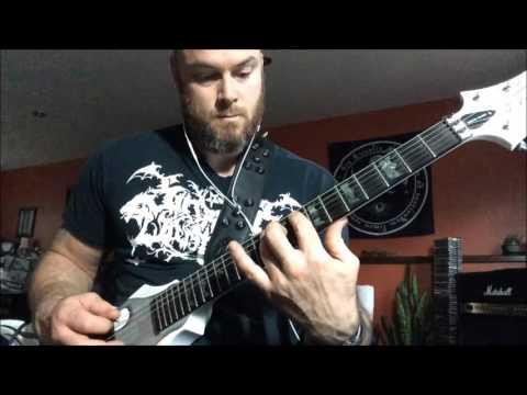 MORBID ANGEL - God of Emptiness guitar cover