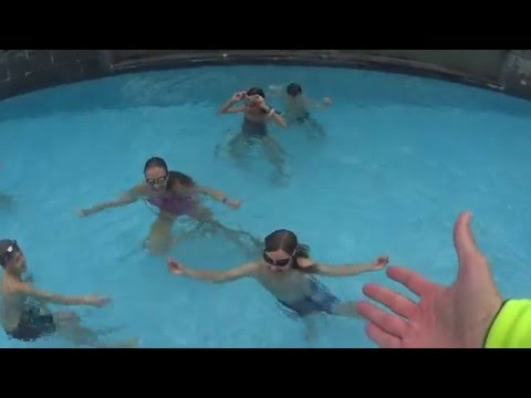Crabs could Swim fast too !! Hillcrest kids having fun !! SWIM to Fly ® Swimming School