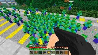 Встреча В Лесу День 121. Зомби Апокалипсис в Майнкрафт