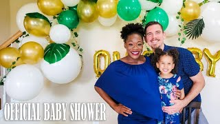 R & L Life Official Baby Shower! | We Reveal Our Baby's Initials!!