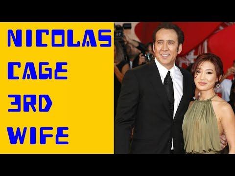 Nicolas Cage Wife Alice Kim  2017   Alice Kim and Nicolas Cage 3rd Wife Cute Moments Together