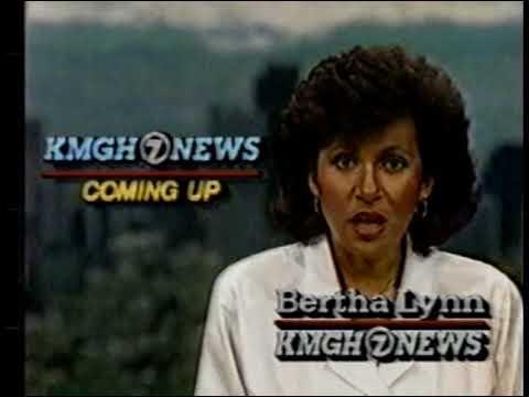 KMGH 7 news update 1989