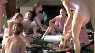 Ballet rehersal at Bolshoi ballet academy