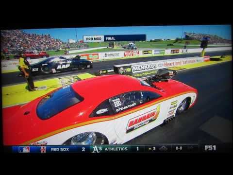 Stevie Fast Jackson's first NHRA J&A Service Pro Mod Drag Racing Series WIN!!