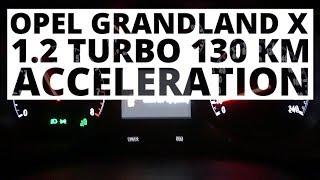 Opel Grandland X 1.2 Turbo 130 KM (MT) - acceleration 0-100 km/h