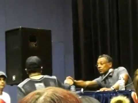 Giancarlo Esposito panel at Hartford Comic Con 6/1/14