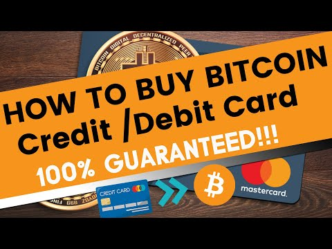 How To Buy Bitcoin With Credit Or Debit Card