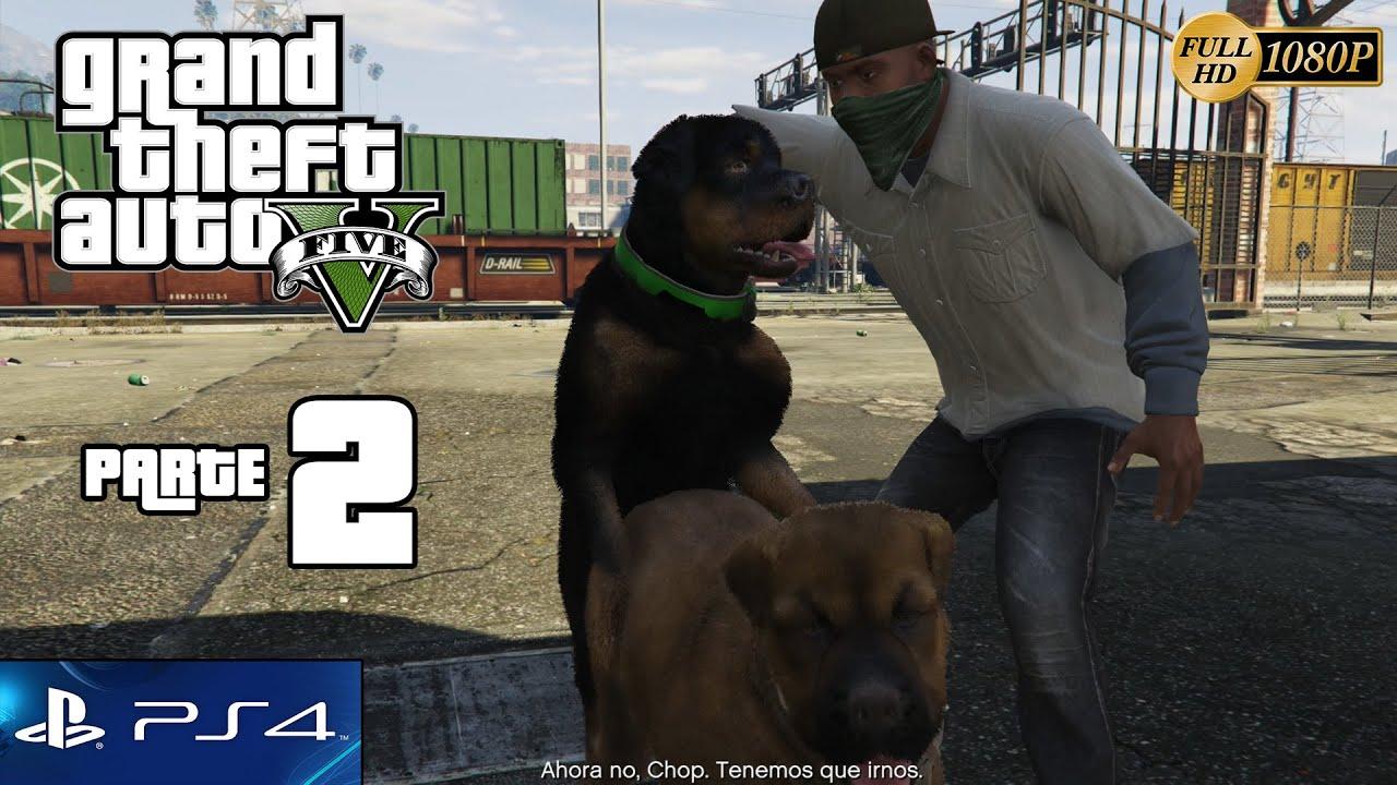 GTA V Grand Theft Auto 5 PS4 Gameplay Español Parte 2