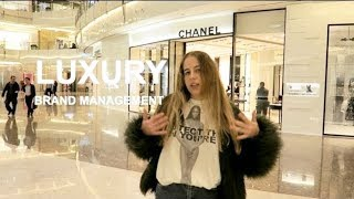 Life of Luxury Brand Management student in China