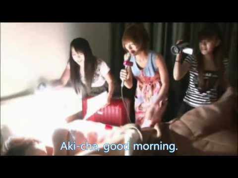AKB48 Guam Prank - 01 - Aki Takajo (Aki-chan) and Rie Kitahara (Kitarie)