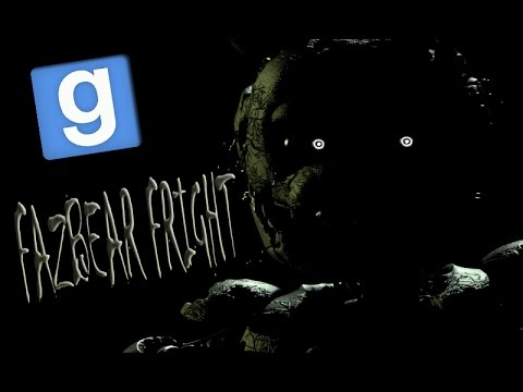 Веселье в Garrys mod: ЗАПЕРТЫЕ В FAZBEAR FRIGHT! Five Nights at Freddys 3