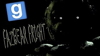 Веселье в Garry s mod ЗАПЕРТЫЕ В FAZBEAR FRIGHT Five Nights at Freddy s 3