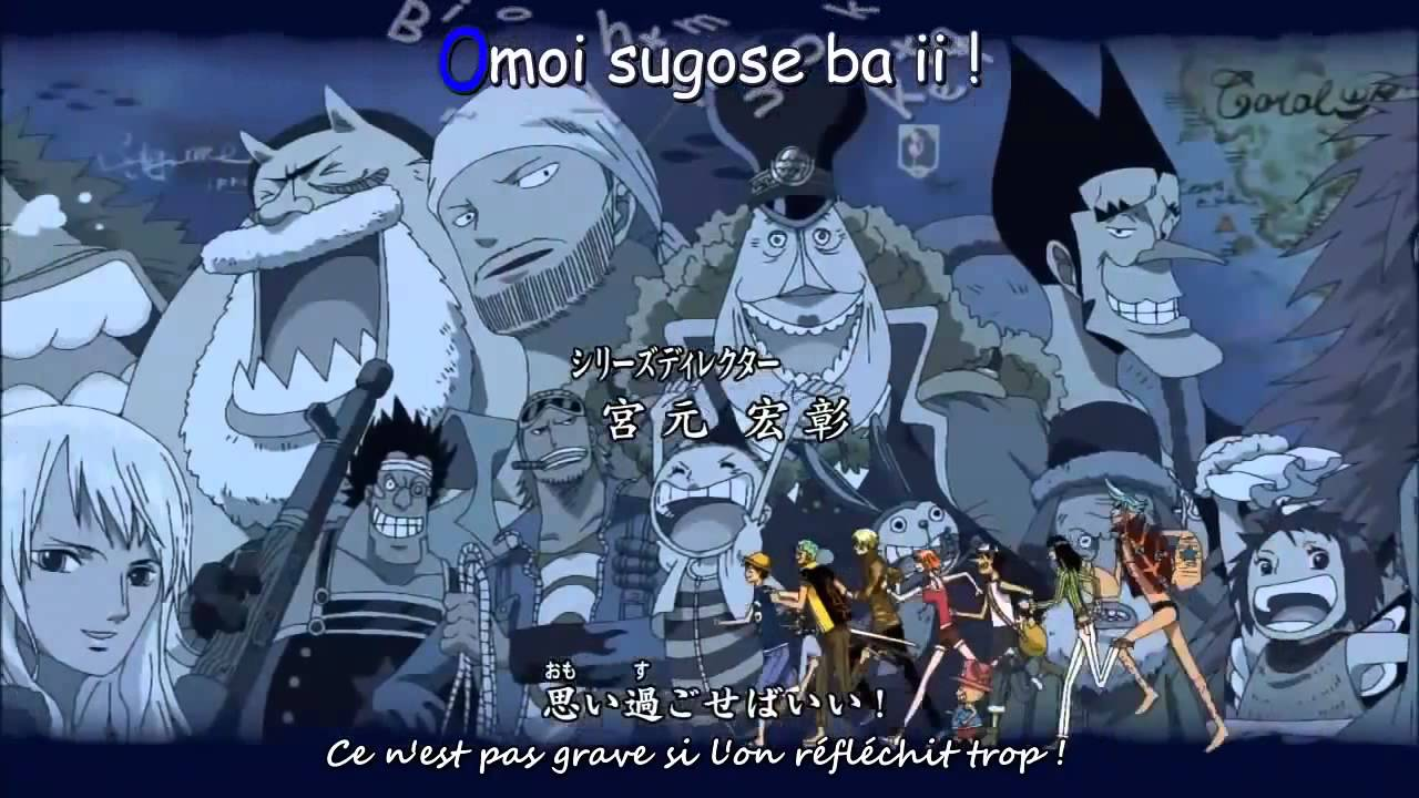 One Piece _ Opening 10 - We are vostfr - YouTube