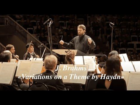 J. Brahms. Variations On A Theme By Haydn.  Й. Брамс. Вариации на тему Гайдна.