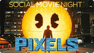 PIXELS - So war die Social Movie Night