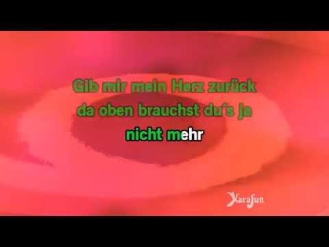 Karaoke Ich Schieß Dich Auf Den Mond - Andrea Berg *