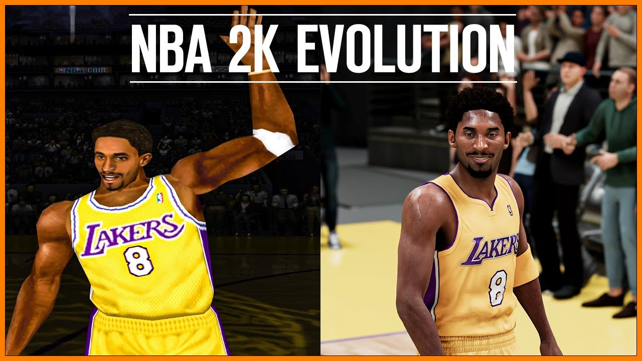 NBA 2K Evolution [NBA 2K - NBA 2K21]
