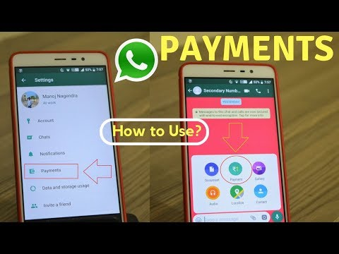 WhatsApp Payments First Look! | How to Use and Send Money?