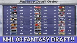 NHL 2003 FANTASY DRAFT CHALLENGE!!