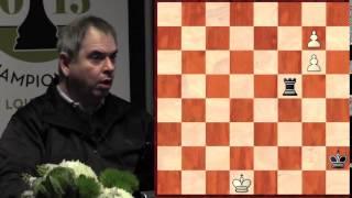 How to Win Difficult Endgames - FM Aviv Friedman - 2015.04.07